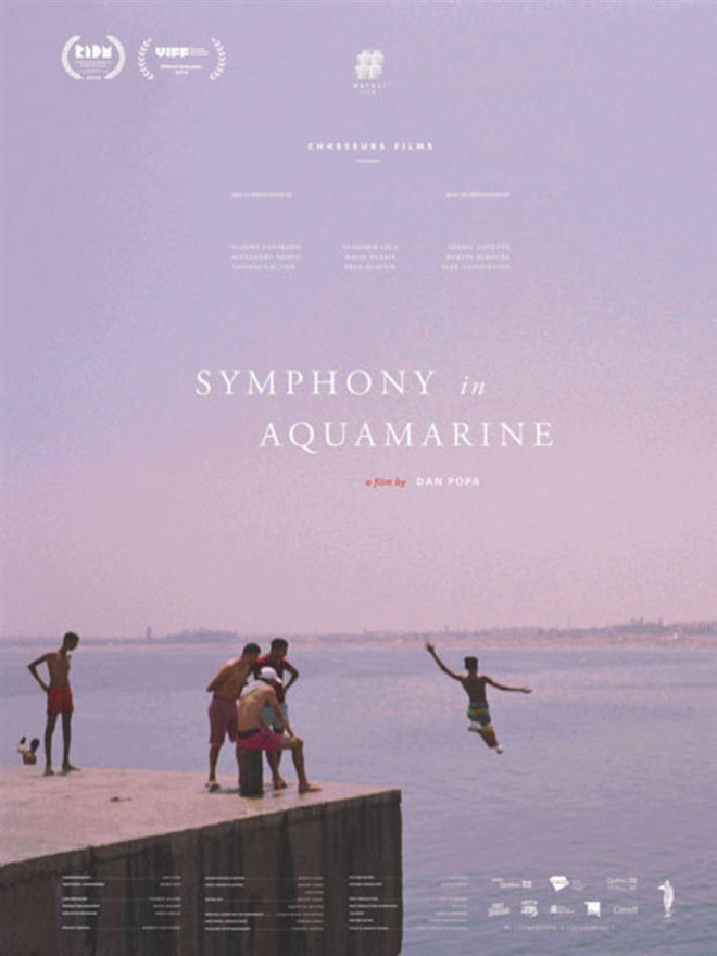 Symphonie en aquamarine Large Poster