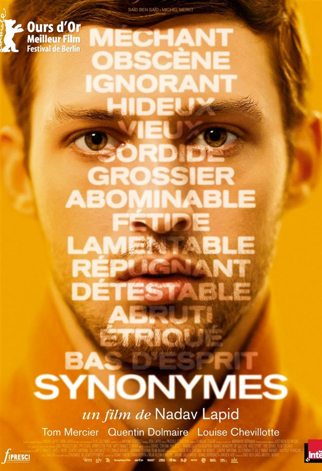 Synonymes (v.o.s.-t.f.) Large Poster