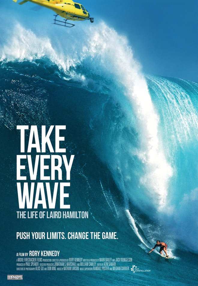 Take Every Wave: The Life of Laird Hamilton (v.o.a.) Large Poster