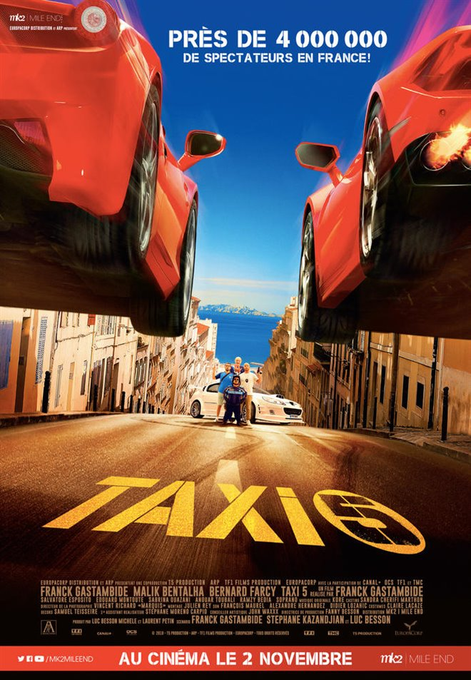 Taxi 5 Large Poster