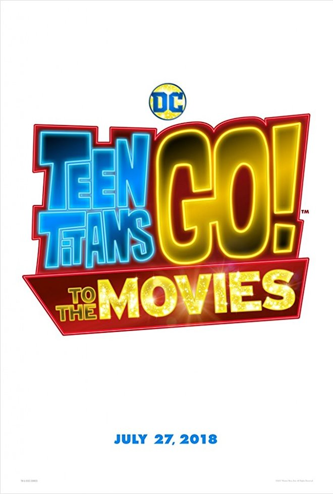 Teen Titans Go! To the Movies Large Poster