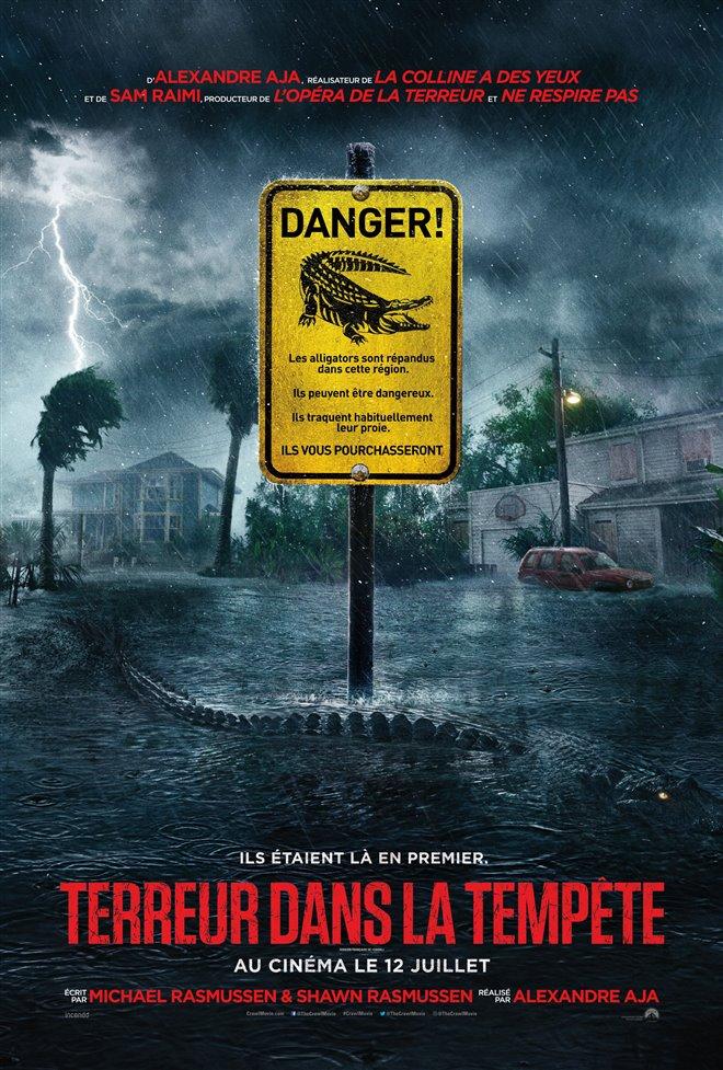Terreur dans la tempête Large Poster
