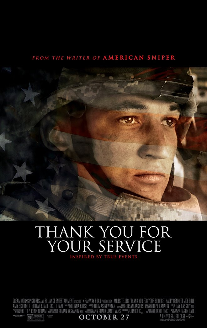 Thank You for Your Service Large Poster