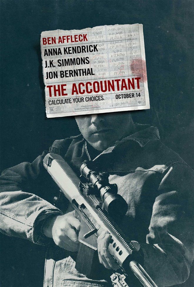 The Accountant Large Poster