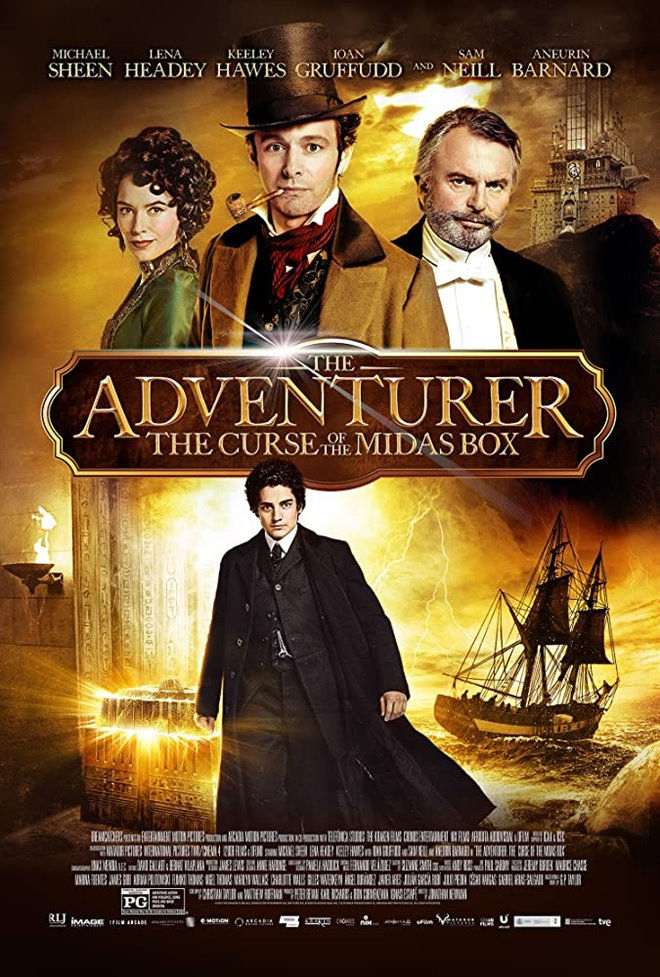 The Adventurer: The Curse of the Midas Box Large Poster