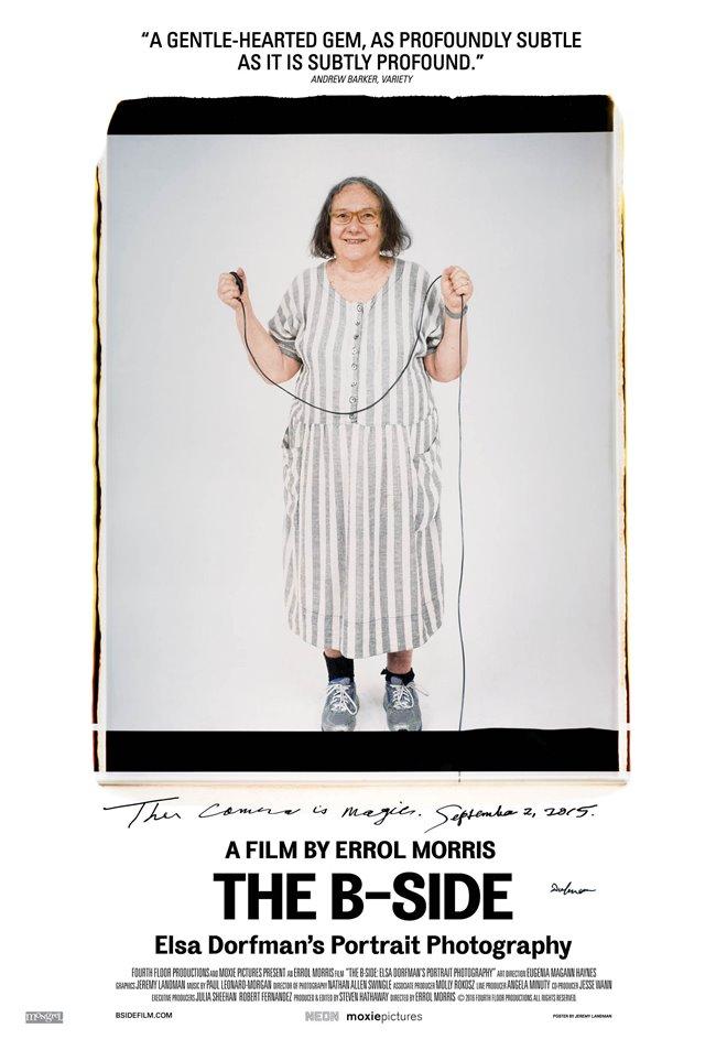 The B-Side: Elsa Dorfman's Portrait Photography (v.o.a.) Large Poster