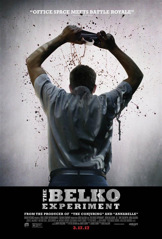 The Belko Experiment Large Poster
