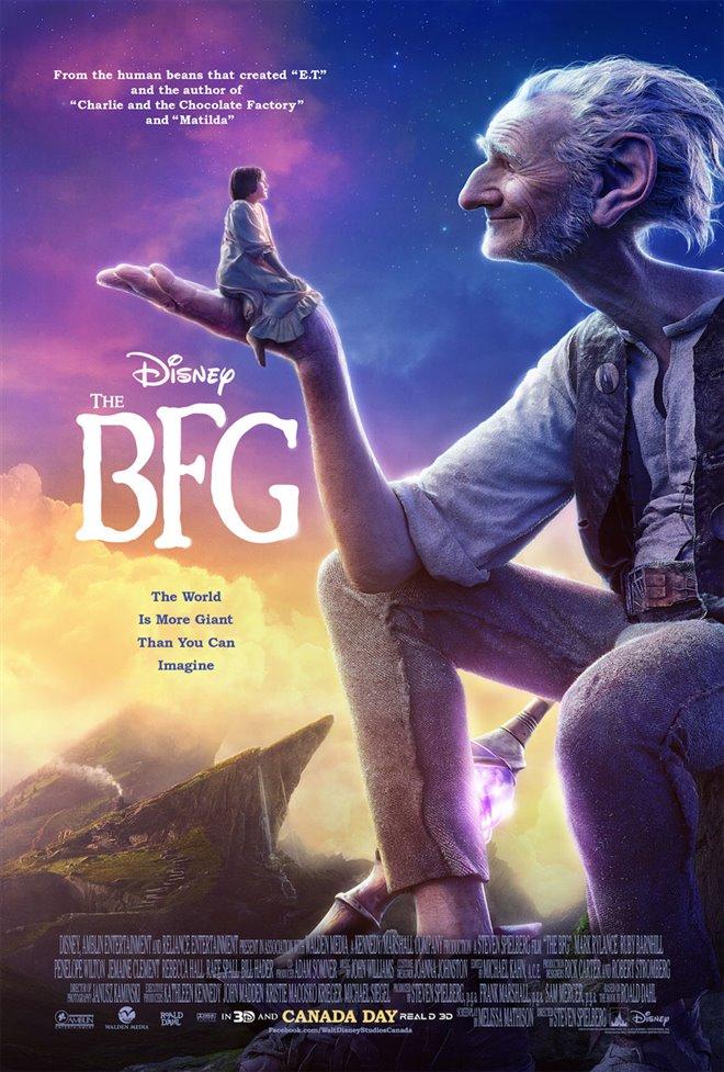 The BFG Large Poster