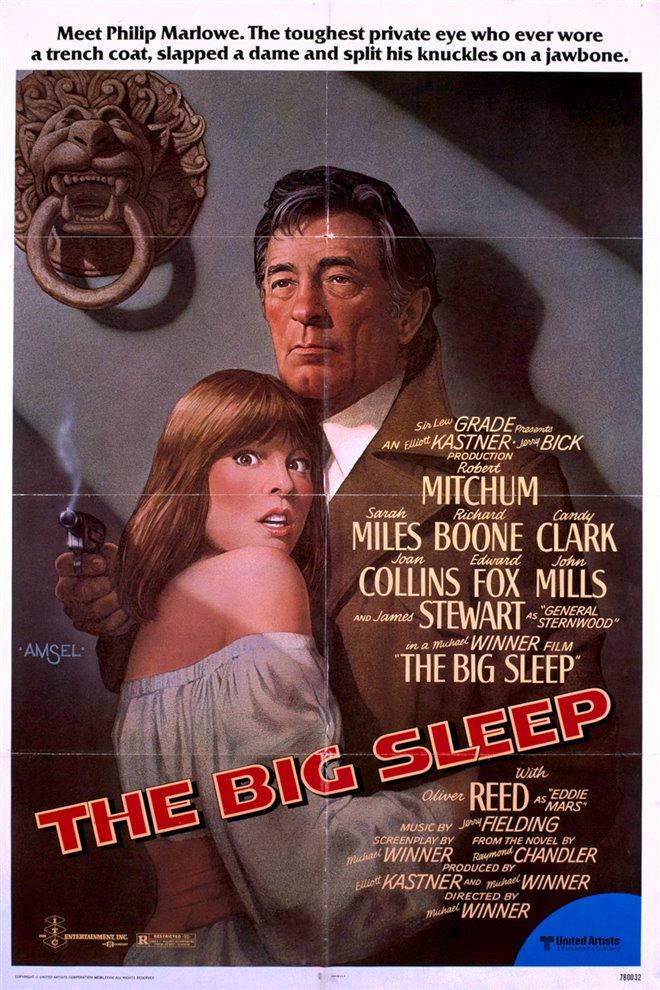 The Big Sleep Large Poster