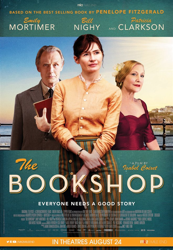 The Bookshop Large Poster