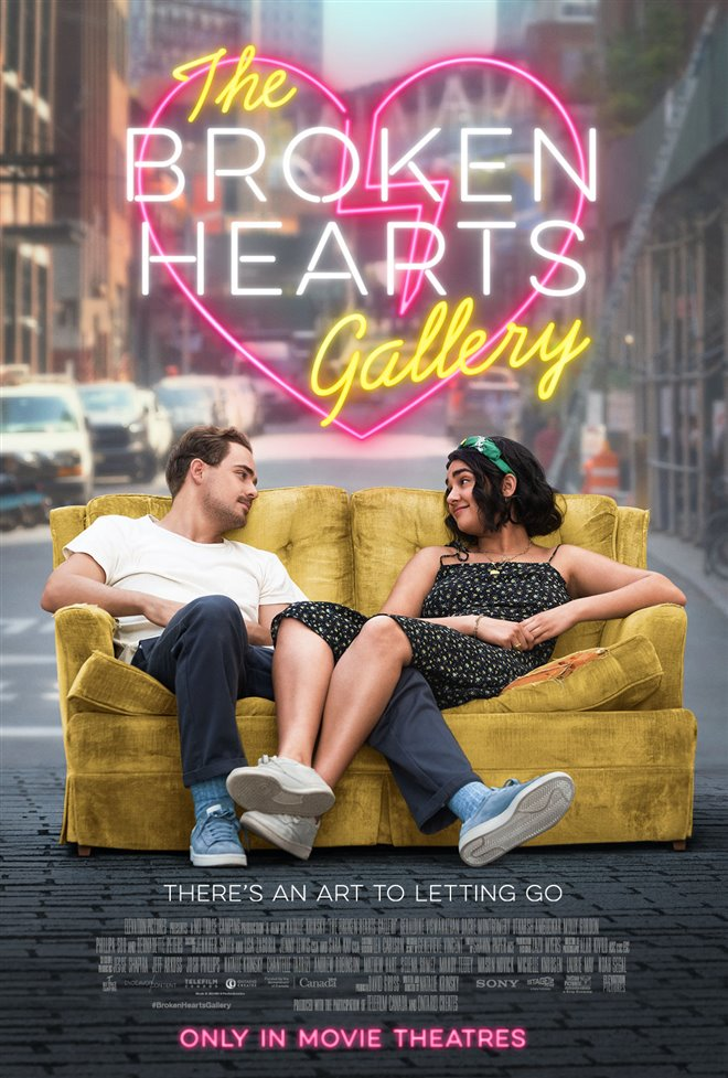 The Broken Hearts Gallery Large Poster