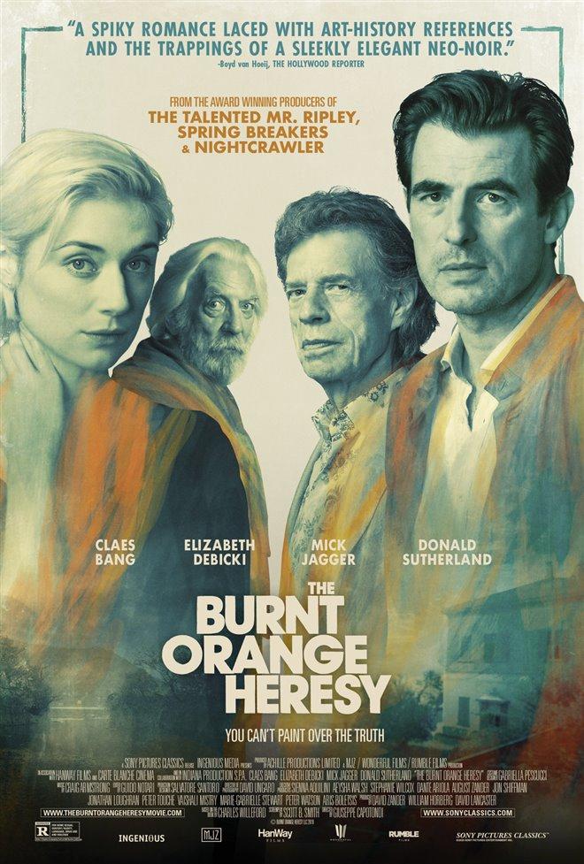 The Burnt Orange Heresy Poster