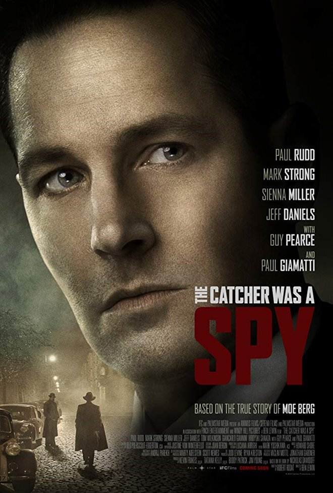 The Catcher was a Spy Large Poster