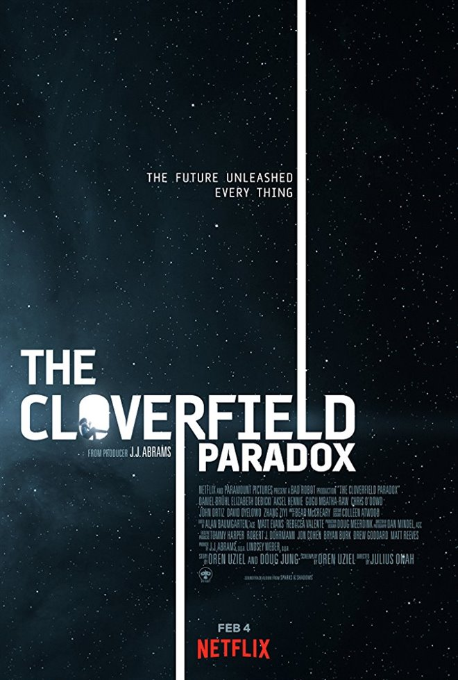 The Cloverfield Paradox Large Poster