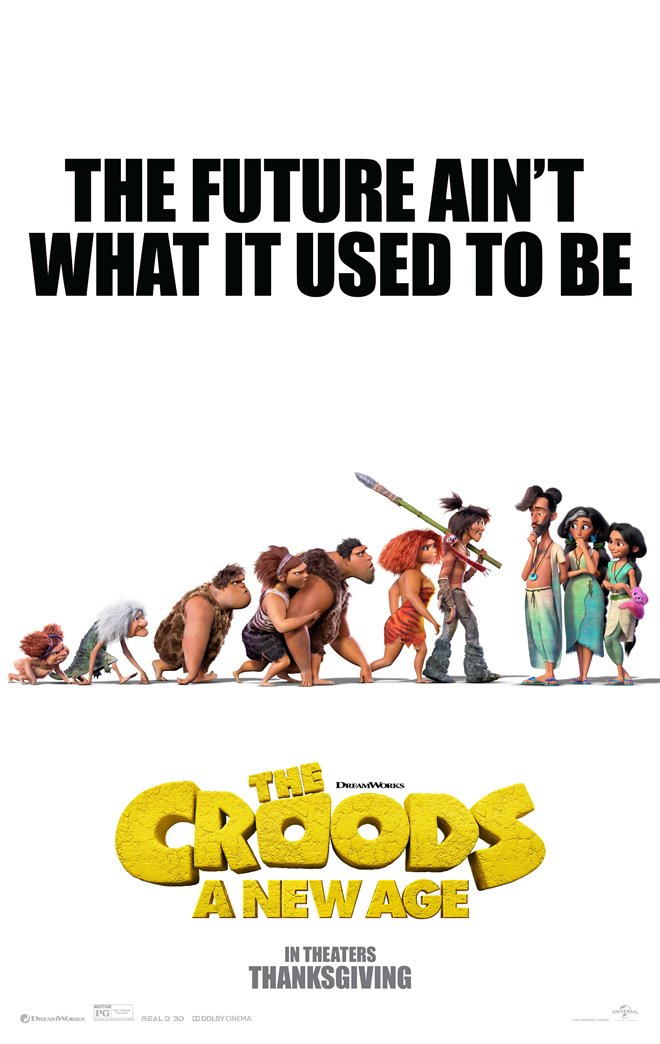 The Croods: A New Age Large Poster