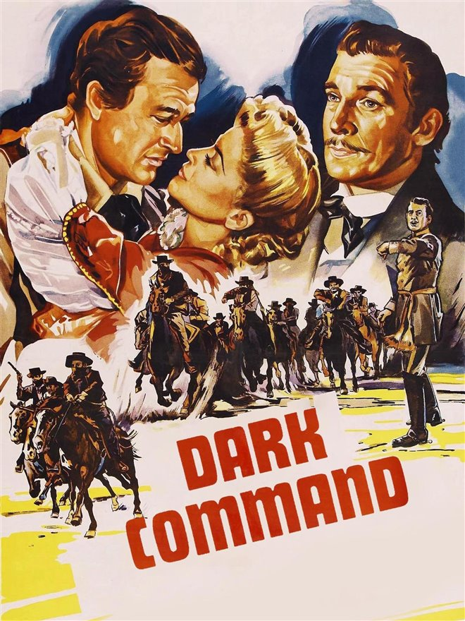 The Dark Command Large Poster