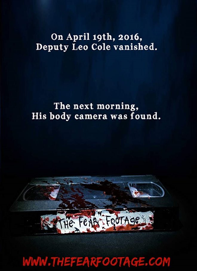 The Fear Footage Large Poster