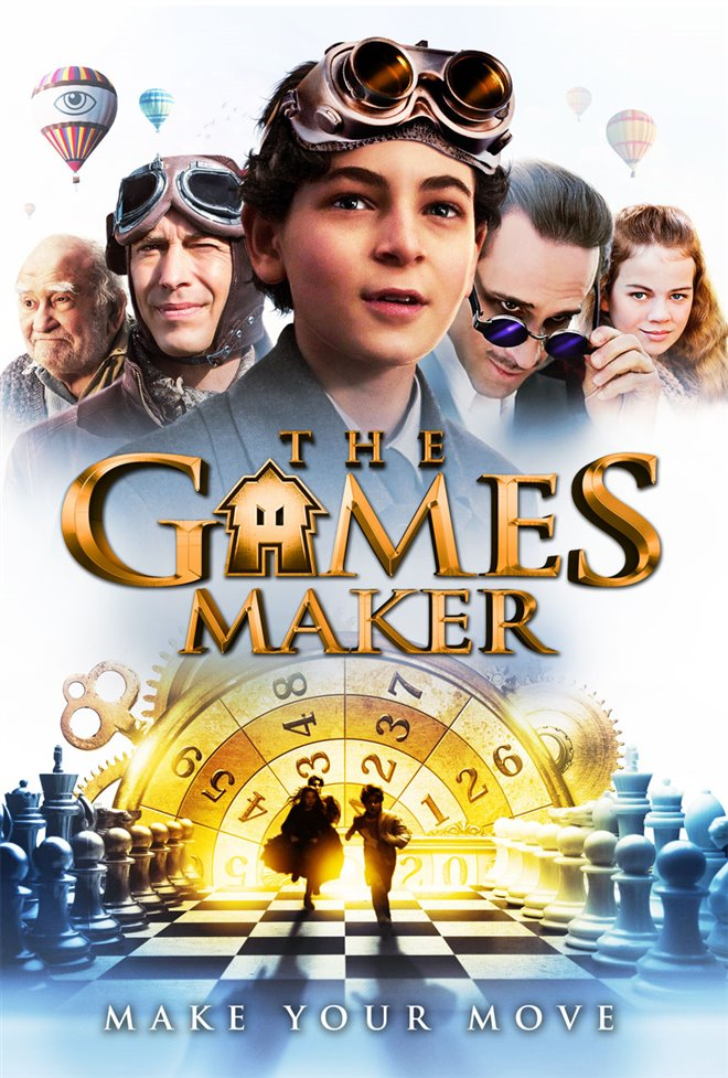 The Games Maker Large Poster