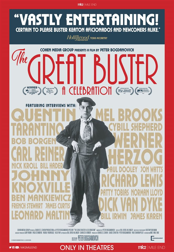 The Great Buster: A Celebration Large Poster