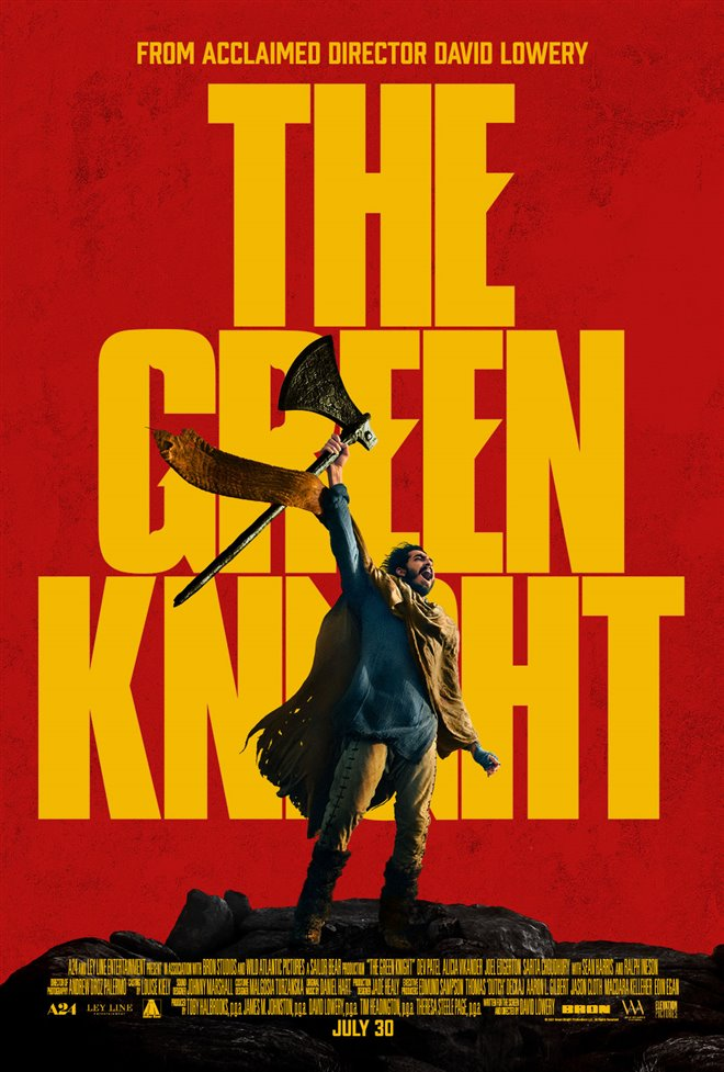 The Green Knight Large Poster