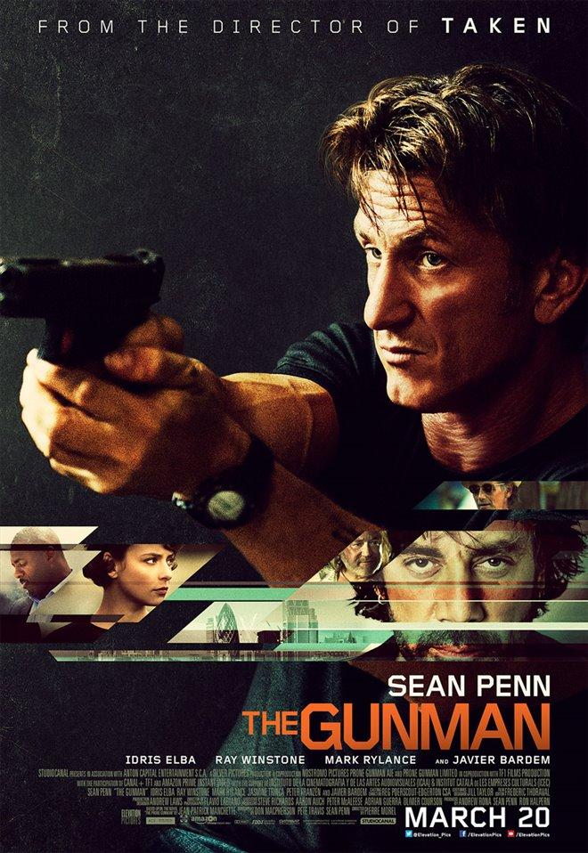 The Gunman Large Poster