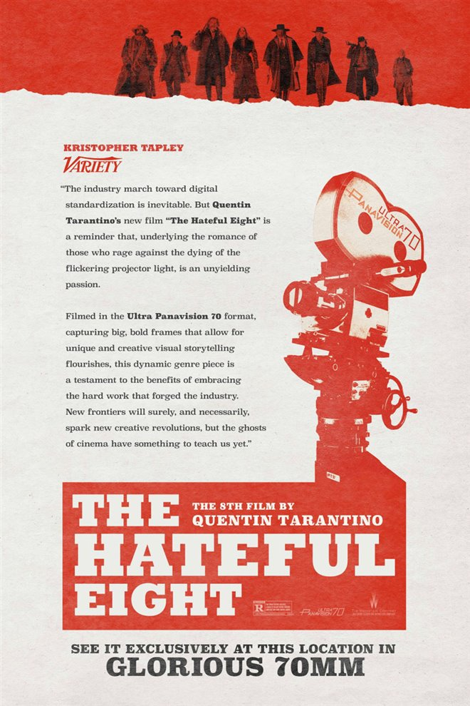 The Hateful Eight: 70mm Large Poster