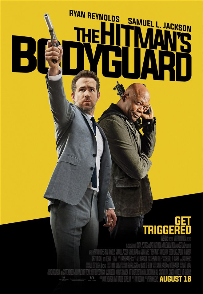 The Hitman's Bodyguard Large Poster