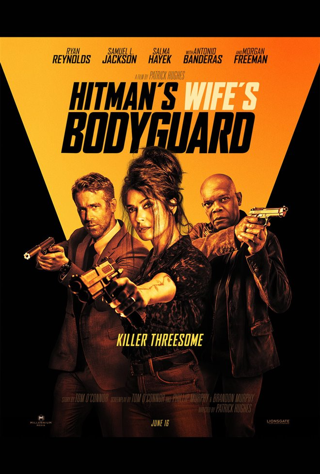 The Hitman's Wife's Bodyguard Large Poster