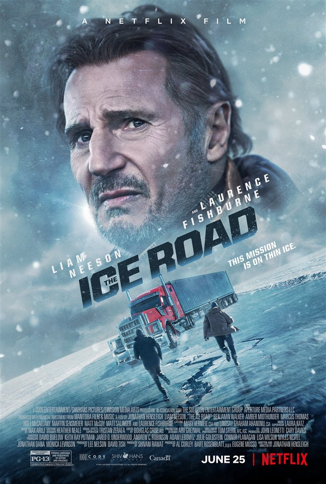 The Ice Road Large Poster
