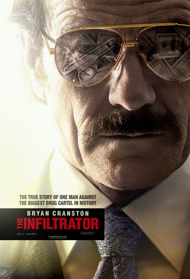 The Infiltrator Large Poster