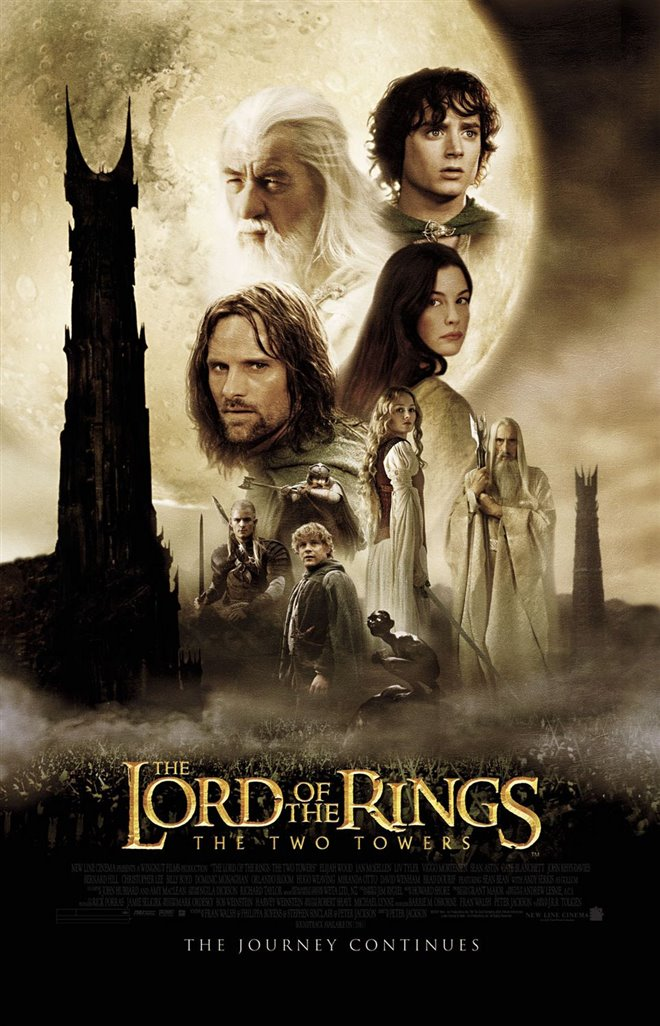 The Lord of the Rings: The Two Towers - 4K Remaster Large Poster