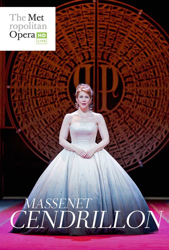 The Metropolitan Opera: Cendrillon Large Poster