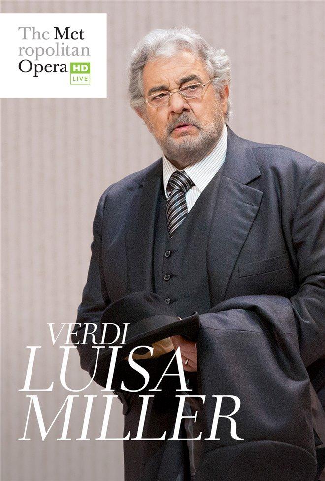 The Metropolitan Opera: Luisa Miller Large Poster