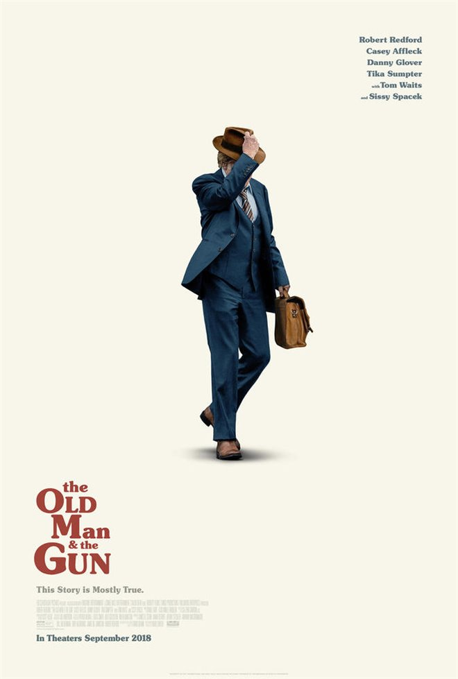 The Old Man & the Gun (v.o.a.) Large Poster