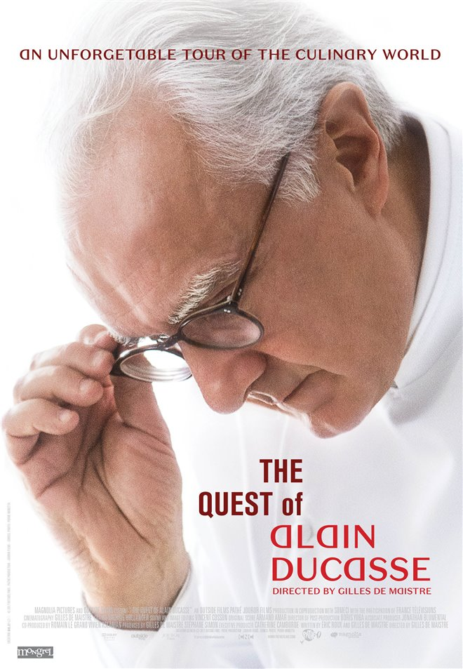 The Quest of Alain Ducasse Large Poster