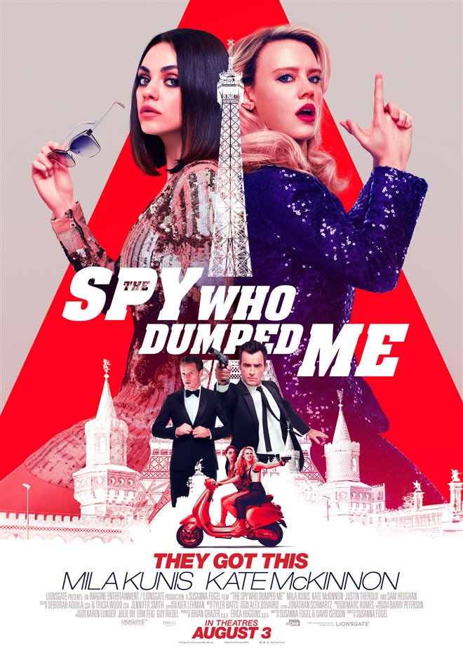 The Spy Who Dumped Me Large Poster
