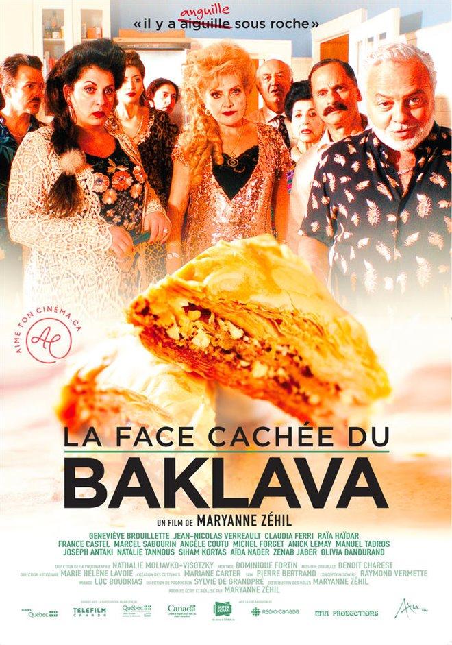 The Sticky Side of Baklava Large Poster