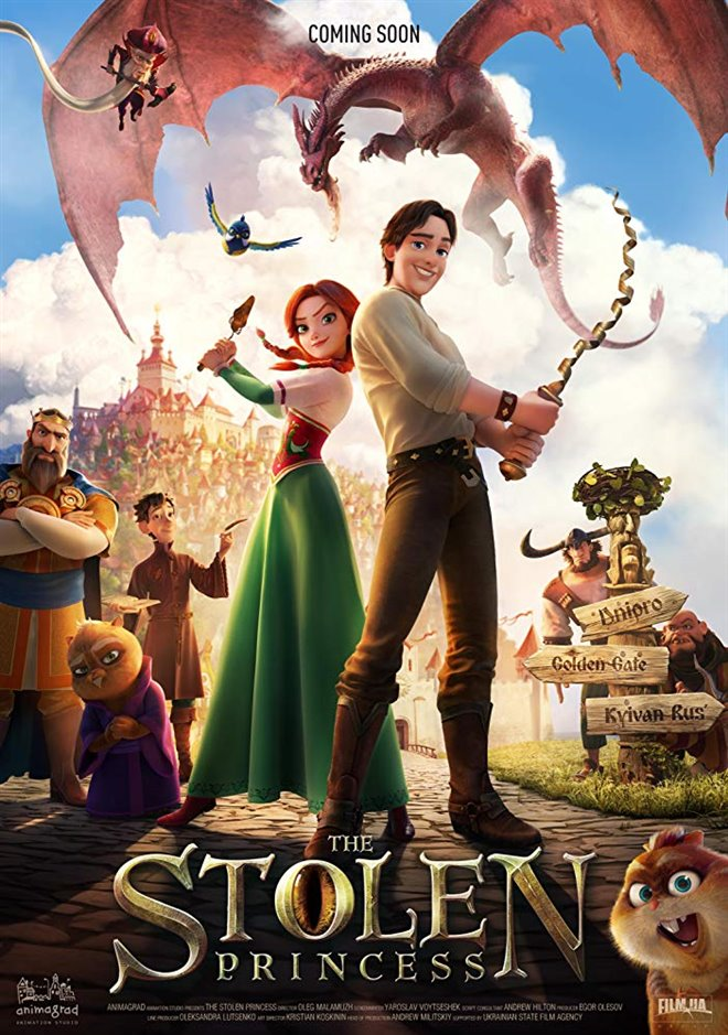 The Stolen Princess Large Poster