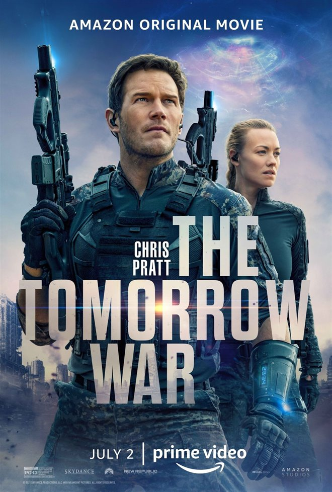 The Tomorrow War (Amazon Prime Video) Large Poster
