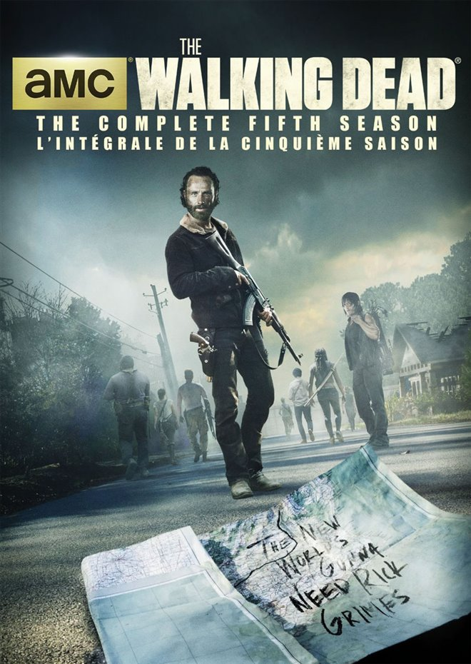 The Walking Dead: The Complete Fifth Season Large Poster
