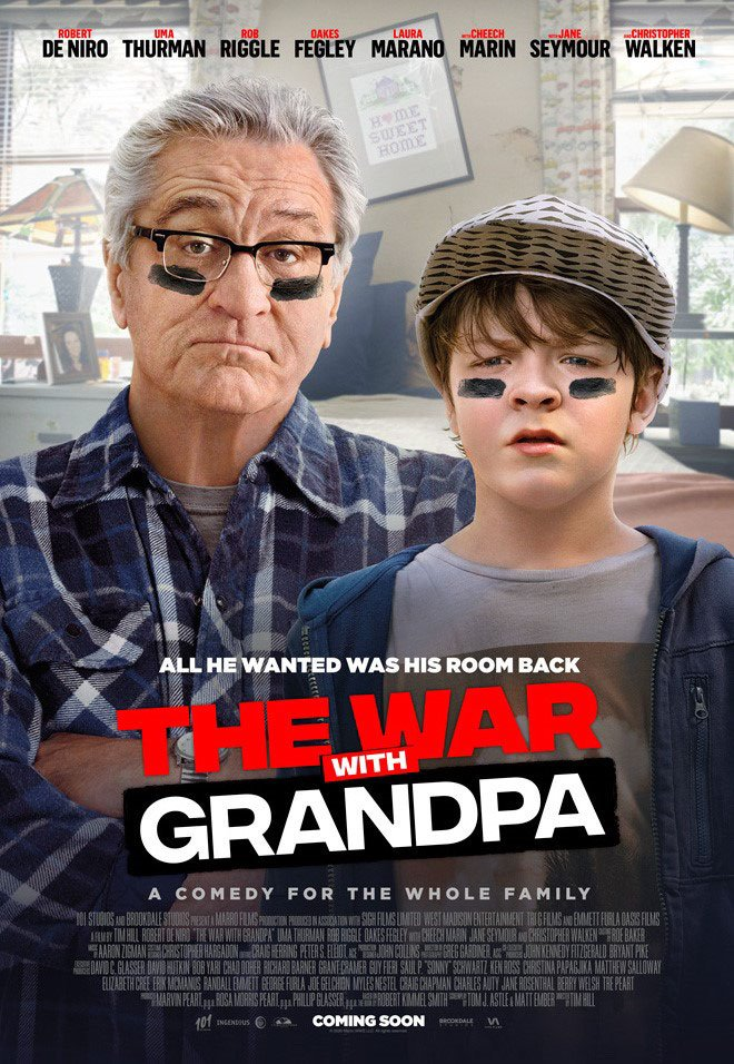 The War with Grandpa Large Poster
