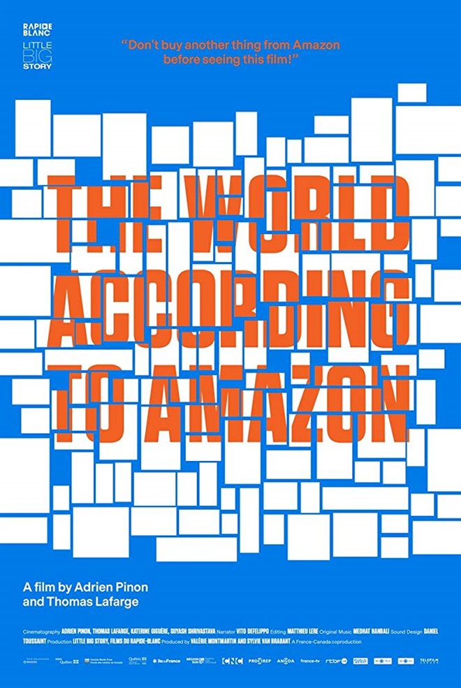The World According to Amazon Large Poster