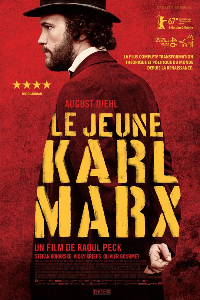 The Young Karl Marx Large Poster