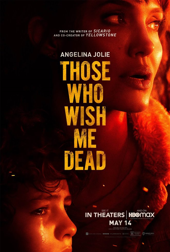 Those Who Wish Me Dead (v.o.a.) Large Poster