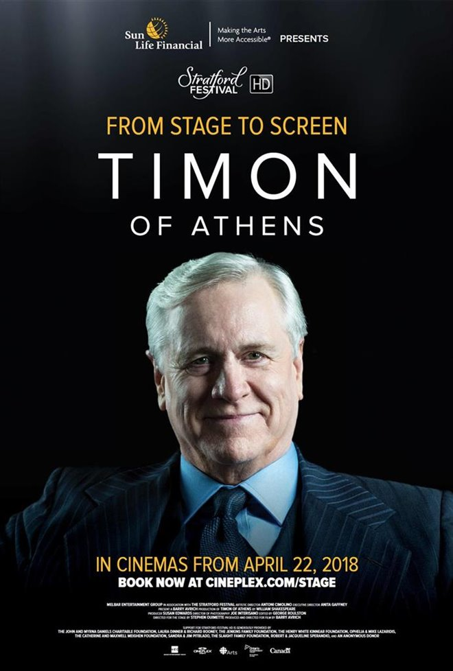 Timon of Athens - Stratford Festival HD Large Poster