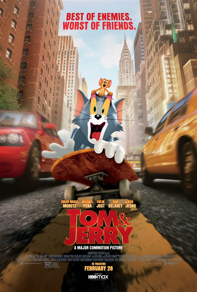 Tom & Jerry Poster
