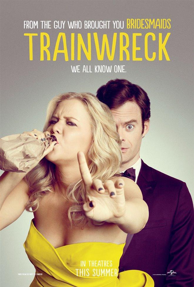 Trainwreck Large Poster