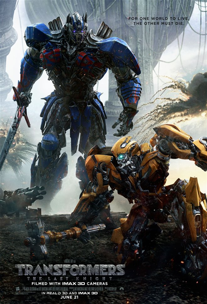 Transformers: The Last Knight Large Poster