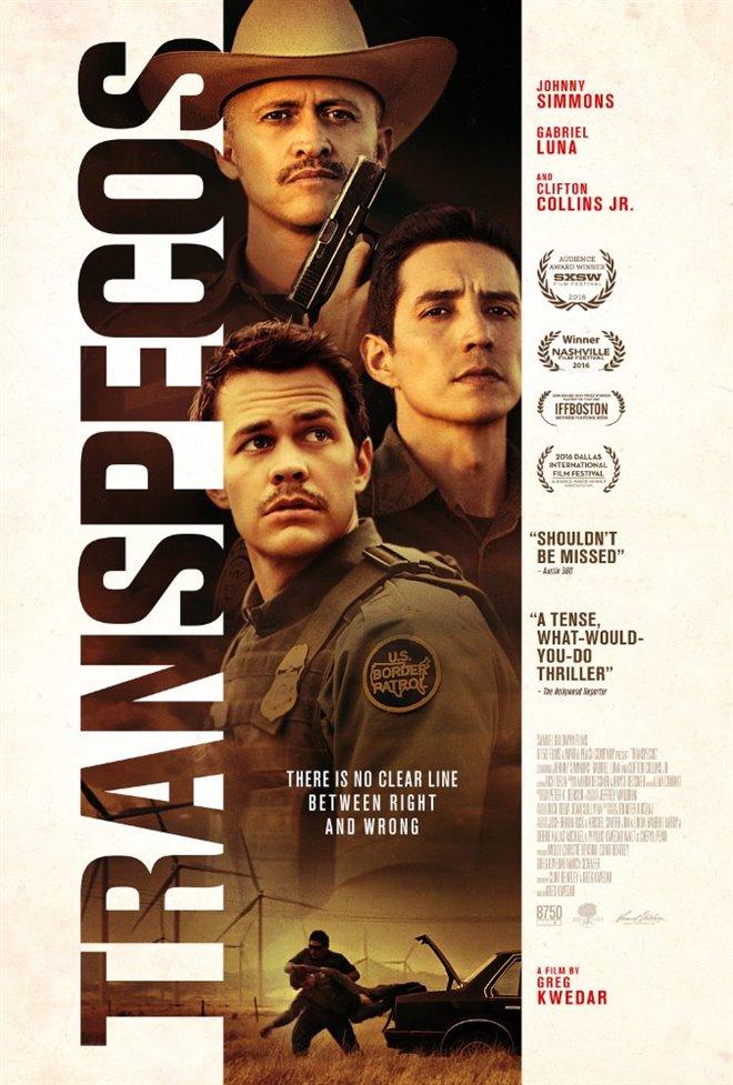 Transpecos Large Poster