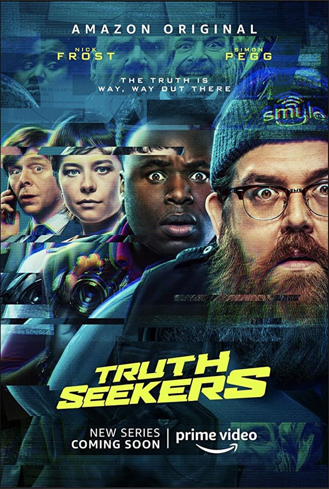 Truth Seekers (Amazon Prime Video) Large Poster